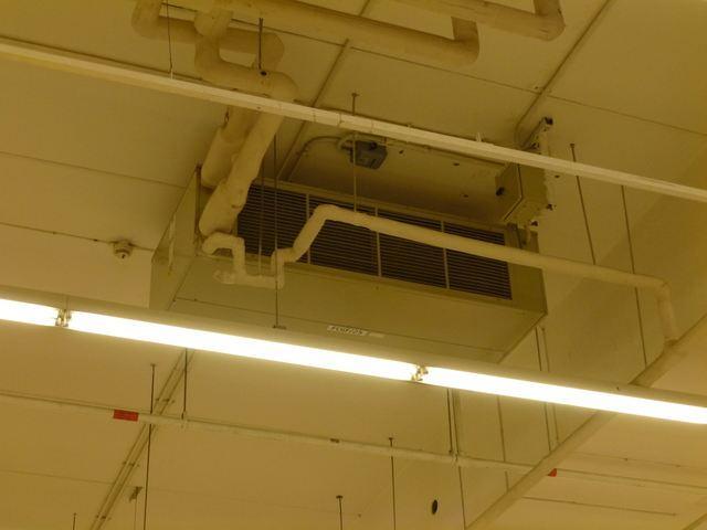 Фанкойл системы чиллер-фанкойл в супермаркете