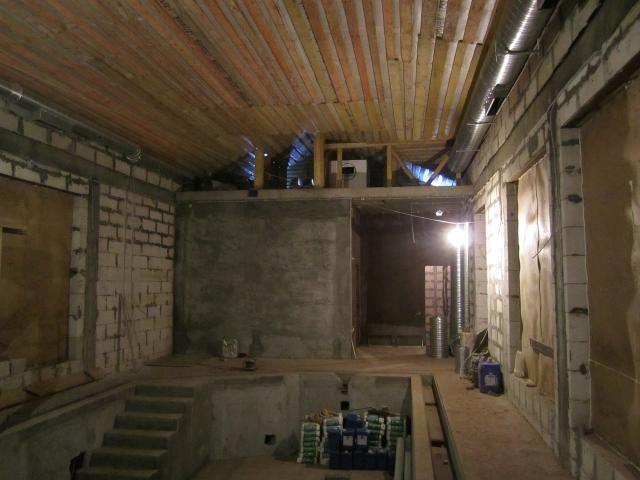 Монтаж канального осушителя Dantherm CDP 165 и воздуховодов раздачи осушенного воздуха
