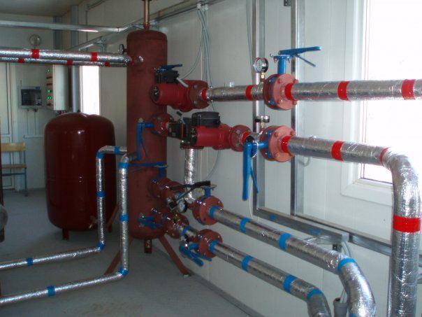 Гидрострелка на котельную мощностью 500 кВт
