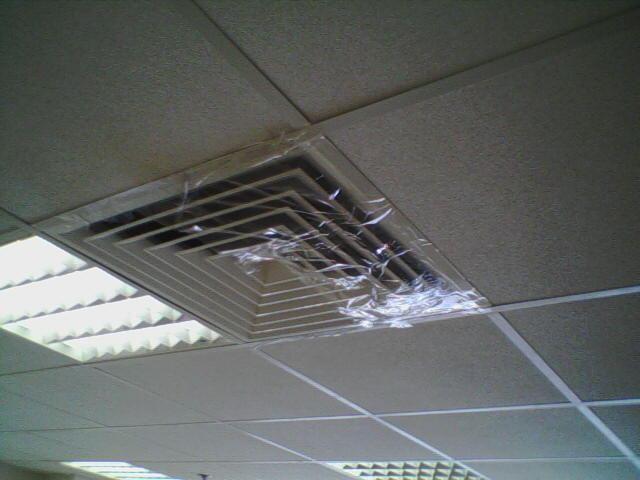 Результат неправильной наладки системы вентиляции