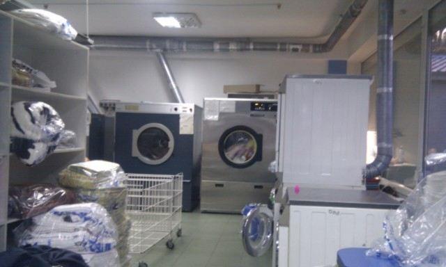 Местные вытяжные системы от промышленных стиральных машин