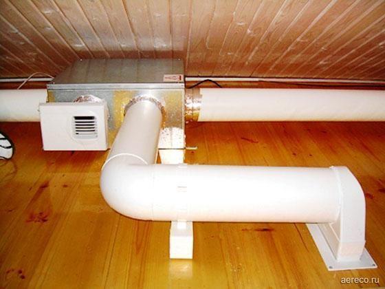 Компактная моноблочная приточно-вытяжная установка. монтаж на чердаке с использованием пластиковых воздуховодов