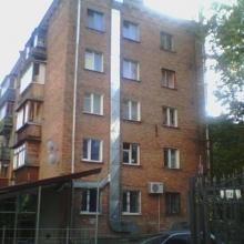 Прокладка воздуховода по фасаду