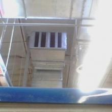 Шумоглушитель большой приточно-вытяжной системы, служащий одновременно воздухозаборником
