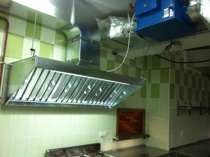 Жироуловитель на кухне