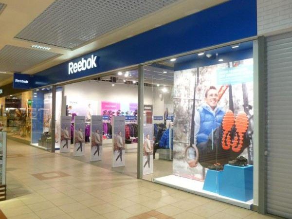 Магазины Reebok, Adidas