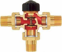 Трехходовой клапан в системе обогрева воздуха