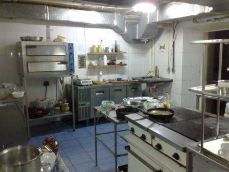 вытяжная система на кухне ресторана