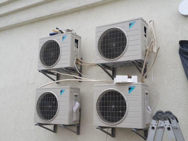 Монтаж вентиляции в двухуровневой квартире по ул.Крамского