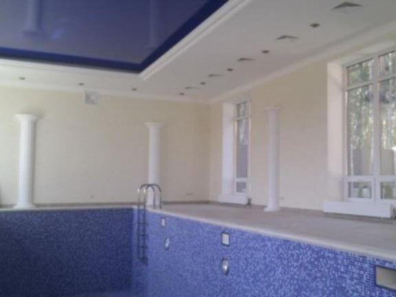 Монтаж системы вентиляции в бассейне