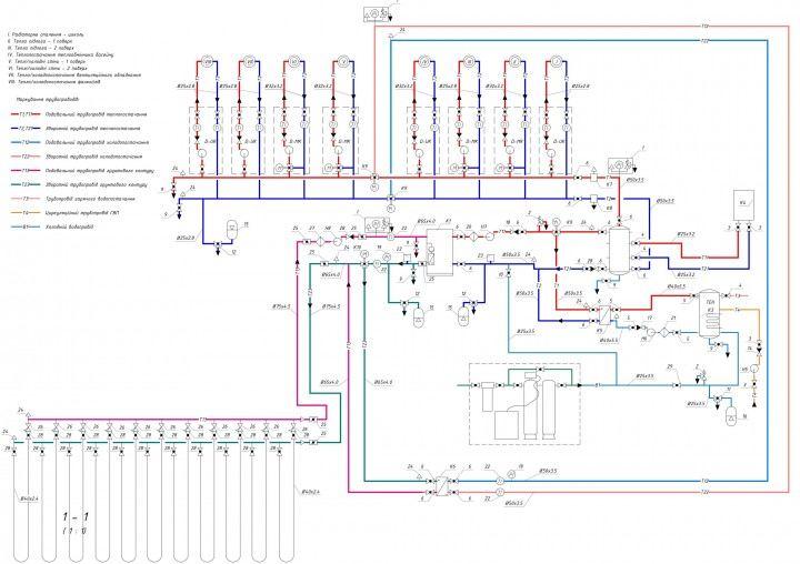 Тепловой насос - схема
