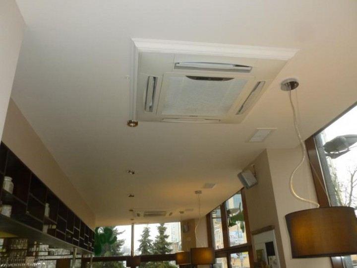 Реализация системы вентиляции и кондиционирования.