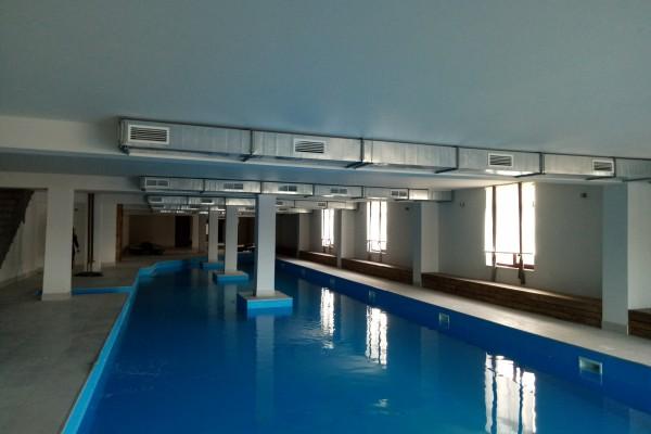 Система вентиляции в бассейне
