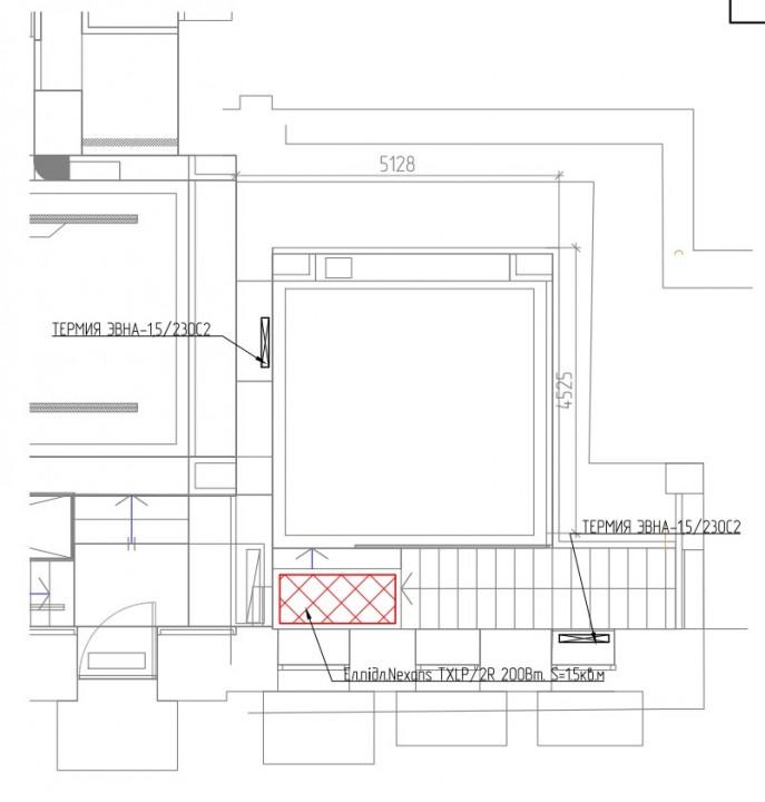 отопление бутик 1й этаж