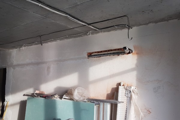 Монтаж сплит систем DAIKIN URURU Sarara FTXZ в 2-х комнатной квартире.